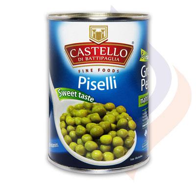 Italian Green Peas Naturally Boiled