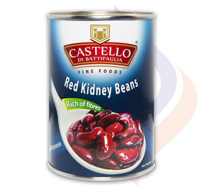Italian Red Kidney Beans Naturally Boiled